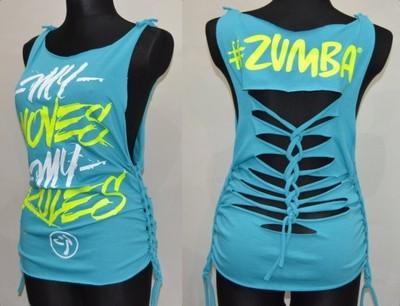 Genialny Zumba koszulka top S, M,L,XL na zumbę - 6658279884 - oficjalne FG98