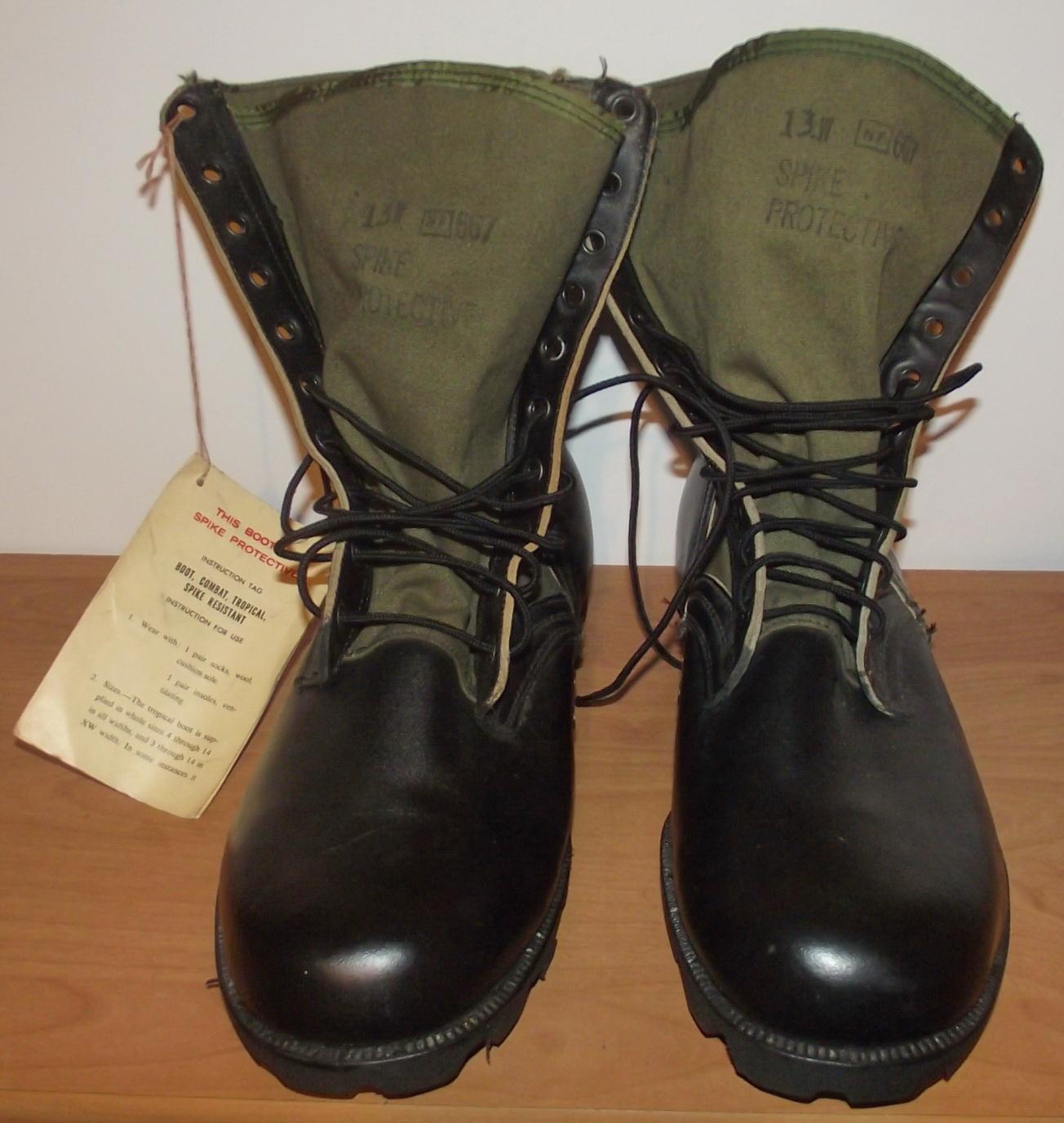 US JUNGLE BOOTS buty tropikalne 1967r - ORYGINAL