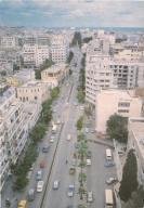 SYRIA - LATAKIA - MIASTO PRZED WOJNĄ + AUTA - 1985