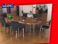 stół konferencyjny, stoły konferencyjne SALSA 6-10