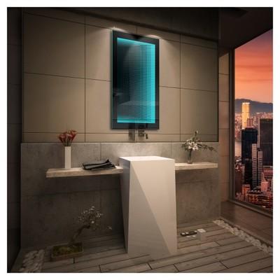 Lustro łazienkowe Led 3d Rgb Efekt Głębi 60x80 6621280570 Oficjalne Archiwum Allegro