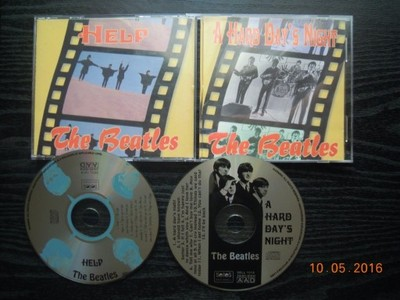 THE BEATLES-A Hard Day's Night. / Help! CD Selles.