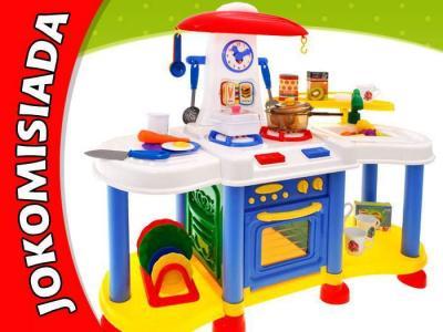 Duża kuchnia dla dziecka odgłosy gotowania ZA1368