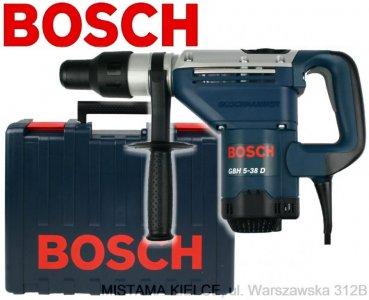 MŁOT GBH 5-38 D BOSCH (uchwyt SDS-MAX, klasa 5kg)