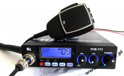 CB RADIO TTI TCB771+2GRATISY-2 LATA GWARANCJI-HIT!