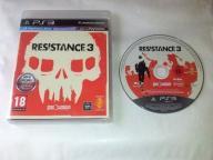 Resistance 3 - PS3 - POLSKA - Szyb. Wysyłka - Move