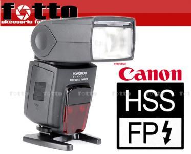 YONGNUO *YN568EX* HSS GN58 + 3 x ball bungee Canon