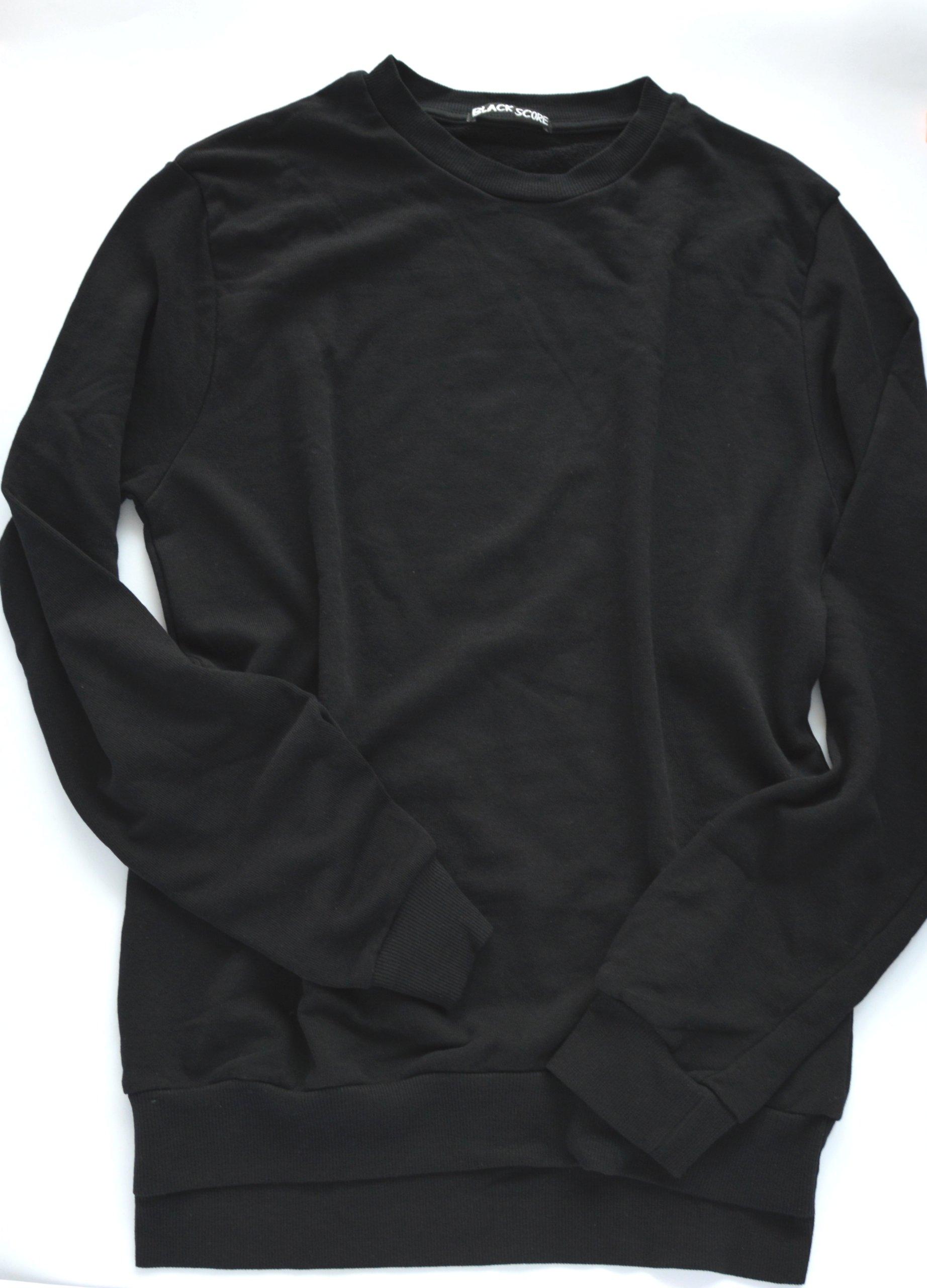 bluza czarna 40 zł