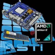 AMD Athlon II 2x2,9 GHz 2GB DDR3 HD3000 + ATA