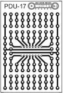 [LISPOL] Płytka uniwersalna PDU17 na DIL16