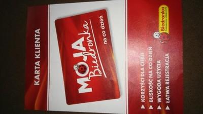Karta Klienta Moja Biedronka 6591542282 Oficjalne Archiwum Allegro