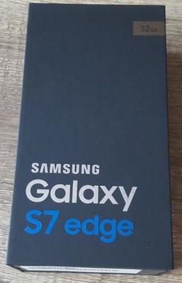 Pudełko Samsung Galaxy S7 Edge Sm G935f 32gb Złoty