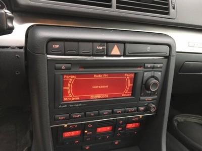 audi a4 b7 b6 navi radio 2 din z kodem cd nawigacj - 6737791700