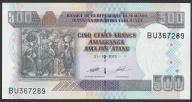 Burundi - 500 franków - 2013 - stan UNC