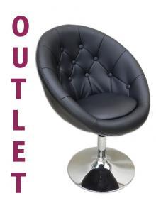 Hoker Fotel Kosmetyczny Pikowany Wyprzedaż 29