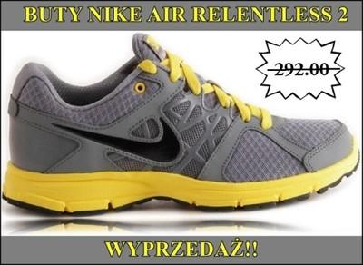 Buty Do Biegania Nike Air Relentless 2  WYPRZEDAŻ!
