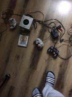 Gamecube Nintendo+ 3pady i 2gry SuperMarioSunshine