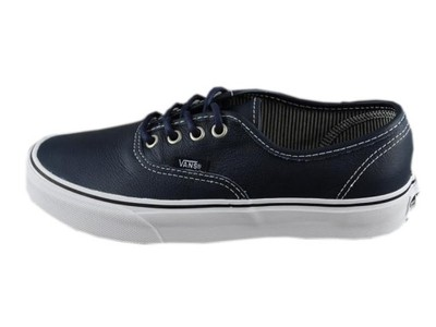 vans authentic skóra