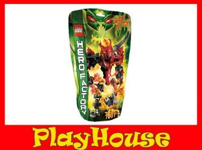 KLOCKI LEGO HERO FACTORY ATAK MÓZGÓW PYROX 44001