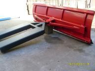 Pług do śniegu wózek widłowy, widlak,  MOCNY 150cm