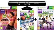 XBOX 360_Kinect + 3 Gry + Karta _ŁÓDŹ_RZGOWSKA