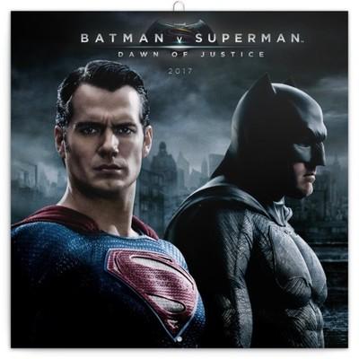 Kalendarz 2017- BATMAN v SUPERMAN  DAWN OF JUSTICE
