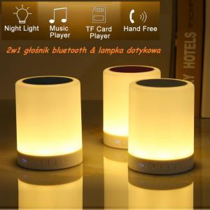 Bezprzewodowa Lampka Nocna Led Głośnik Bluetooth 5967404247 Oficjalne Archiwum Allegro