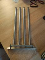Wieszak na ręczniki 4 drążki IKEA GRUNDTAL 20922