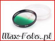 Filtr Zielony połówkowy 58mm do Canon Nikon Sony