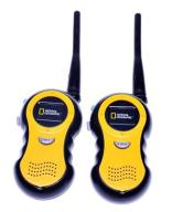 5707-69 .NATIONAL GEOGRAPHIC... k#o WALKIE TALKIE