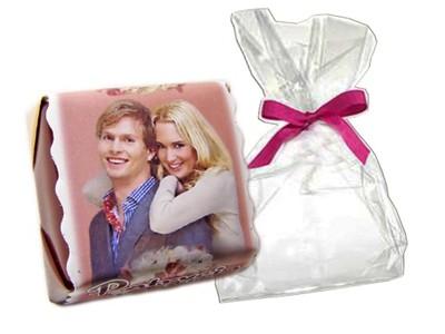 Foto czekoladki podziekowania ślub WORECZKI gratis