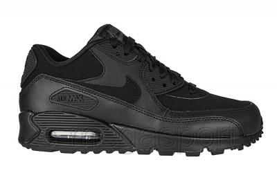 Buty Nike Air Max 90 GS 345017 017 – czarno, fioletowe