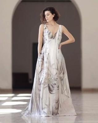 693f6c80c1 Conscious 36 HM H M sukienka len jedwab studio - 6903828281 ...