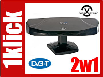 wan5 Antena DVB-T 2w1 zewn i wewn wzmocnienie 45dB