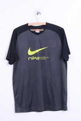 Nike  koszulka męska szara L sportowa