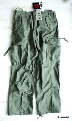 Nowe spodnie M65 NYCO Olive Green FOSTEX XXS