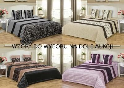Narzuty Satynowa Narzuta Na łóżko 200x220 Jaśki 5656136299