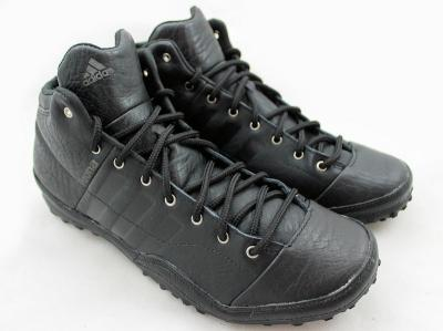 buty męskie zimowe adidas roona mid czarne