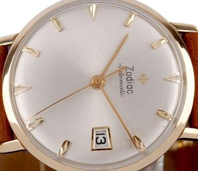 Zodiac Automatic Zloto 18k Piekny Meski Zegarek 6998786788 Oficjalne Archiwum Allegro