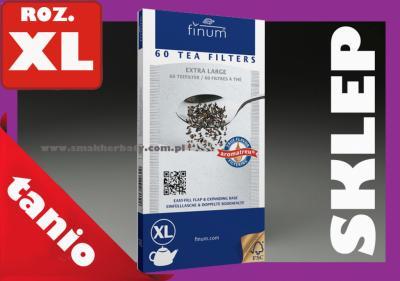 TANIO Filtr papierowy FINUM roz XL filtry DUŻE +++