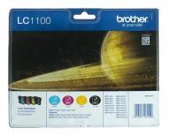 Tusz Brother zestaw LC1100VALBP=LC-1100VALBP, zawi