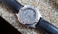Znakomity zegarek Timberland, dual time, WR 50m