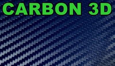 NIEBIESKA  okleina CARBON folia KARBON 152 x 50 3D