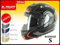 KASK LS2 FF352 ROOKIE ATMOS BLACK RED S 2016 +50ZŁ