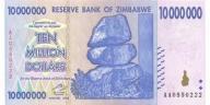 ZIMBABWE 10000000 Dollars 2008 P-78 UNC
