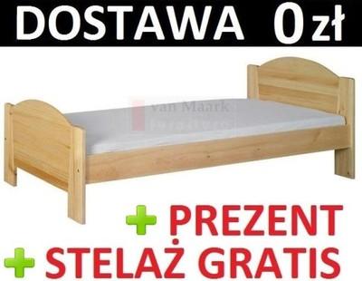 łóżko Sosnowe Miki 180x200 Meble Doktór ł180 5780947076