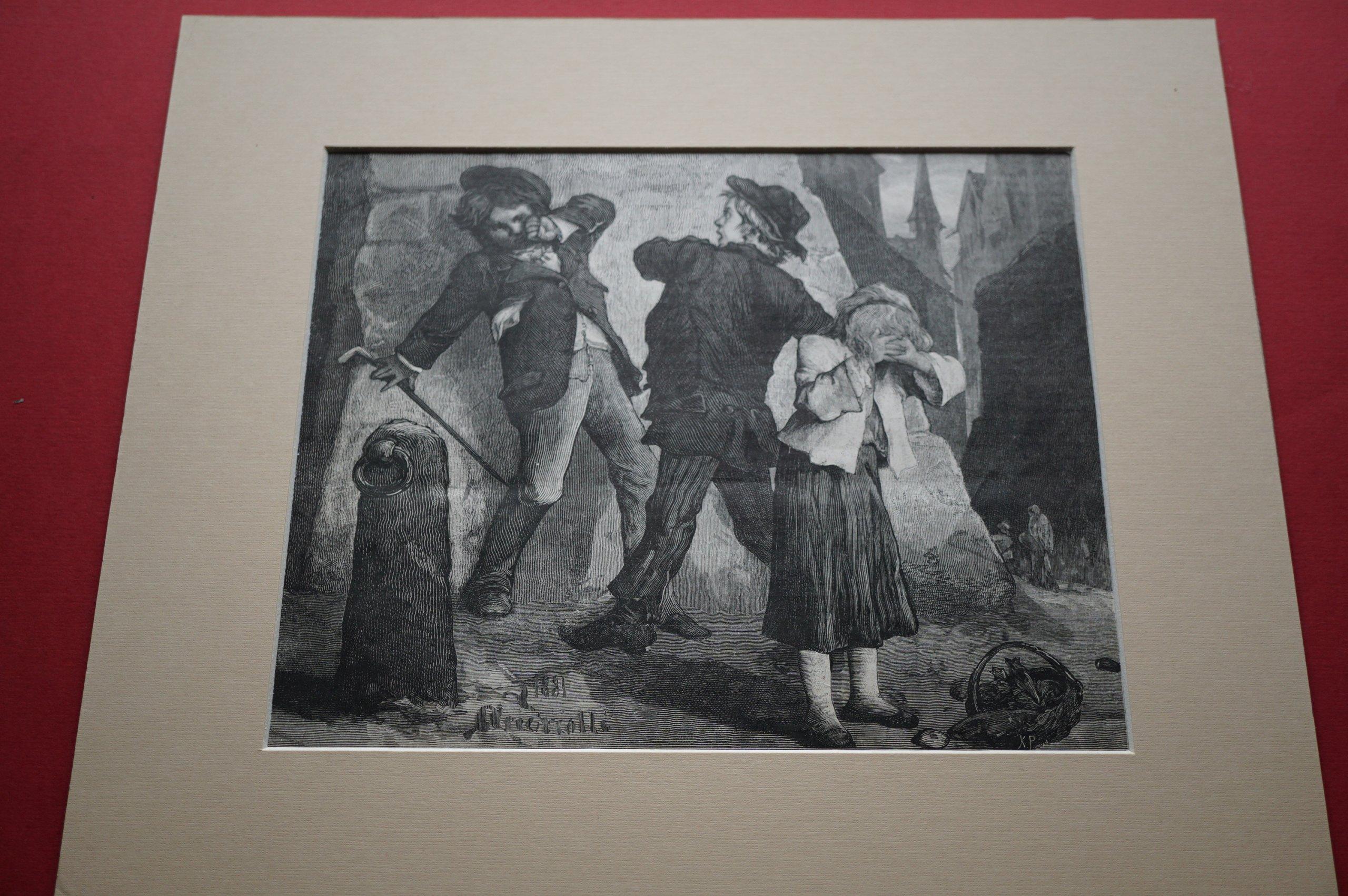 ANDRIOLLI M.: Jak śmiałeś. [Scenka rodzajowa] 1881
