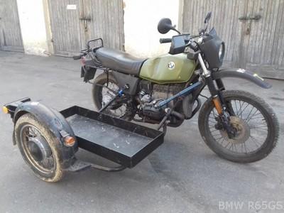 Bmw R 65 Gs Z Wózkiem Bocznym Wojskowy 1993 6779559416 Oficjalne