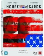 HOUSE OF CARDS (DOM Z KART) (SEZON 5) 4 DVD