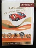 Karta gratulacje dla nowego kierowcy zdanie prawka